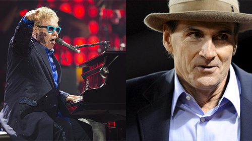 Sir Elton John & His Band e James Taylor & His All-Star Band